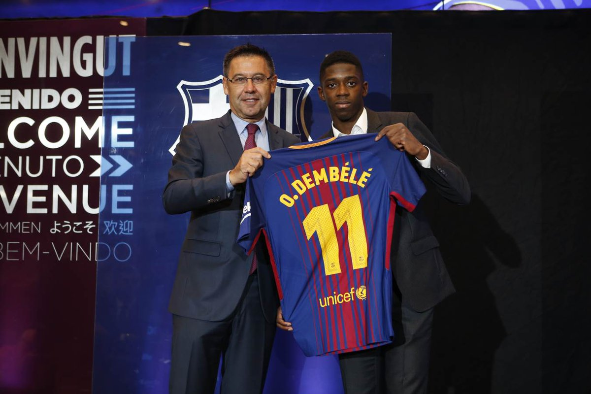 Facebook Dortmund Ousmane Dembele Discusses Being A Long Time Barcelona Fan And