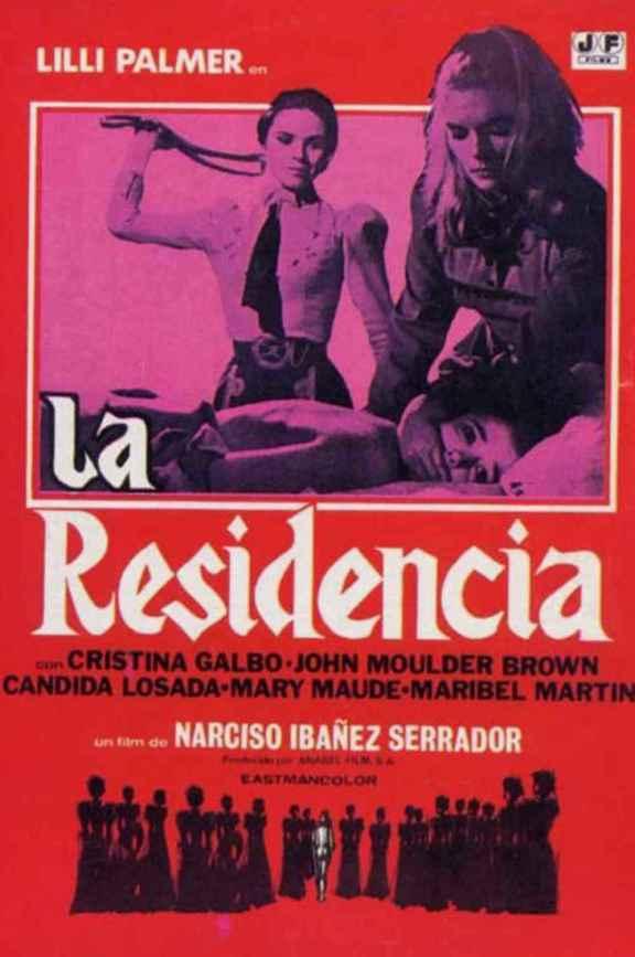 la residencia - The House That Screamed - Das Versteck - Gli Orrori Del Liceo Femminile - 1969 - poster010