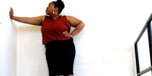 It's harder for plus0sized women to find stylish clothing.