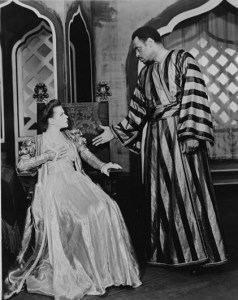 "Paul Robeson starred in ""Othello"" on Broadway in the 1940s with Uta Hagen as Desdemona."