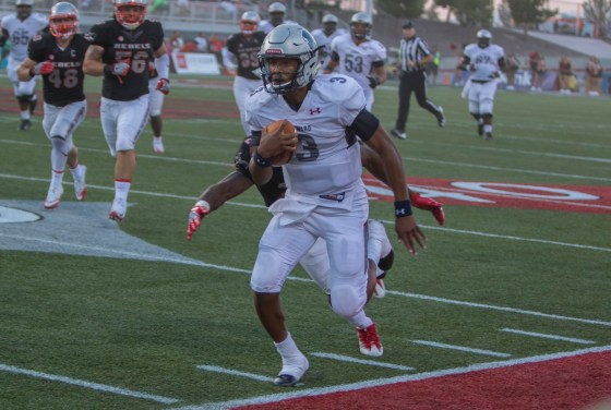 Freshman quarterback Caylin Newton led the Howard Bison in an upset victory over UNLV.