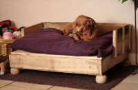 Dog Bed out of Recycled Wooden Pallets   101 Pallets