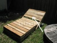 Pallet Lounge Chair Plans | 101 Pallets