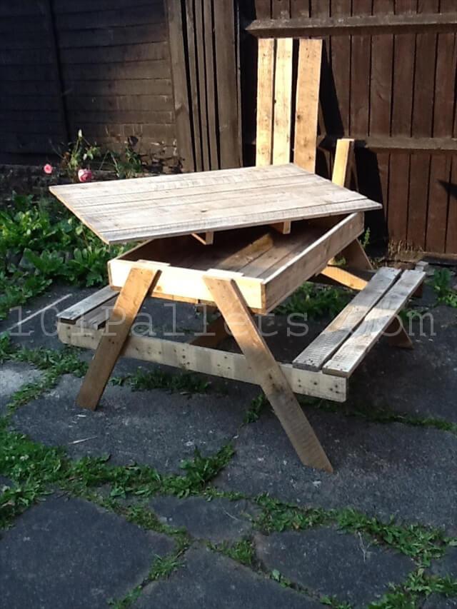 15 Unique Pallet Picnic Table