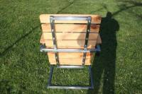 DIY Pallet and Steel Patio Chair - Amazing Style! | 101 ...