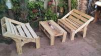 DIY Pallet Outdoor Seating Ideas | 101 Pallets