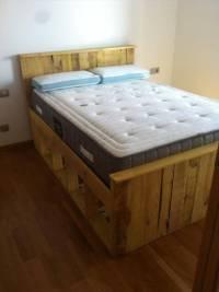 Pallets Wood Bed Frame | 101 Pallets