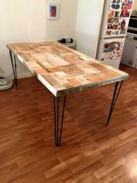 Pallet Dining Table - Give a New life to Pallets | 101 Pallets