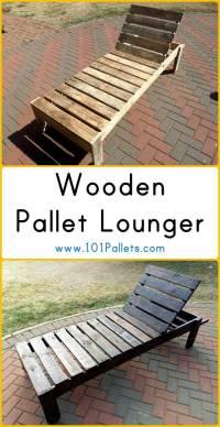 Wooden Pallet Lounger | 101 Pallets
