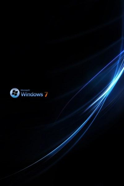 Computers - Win 7 Aurora Style Dark Theme - iPad iPhone HD Wallpaper Free