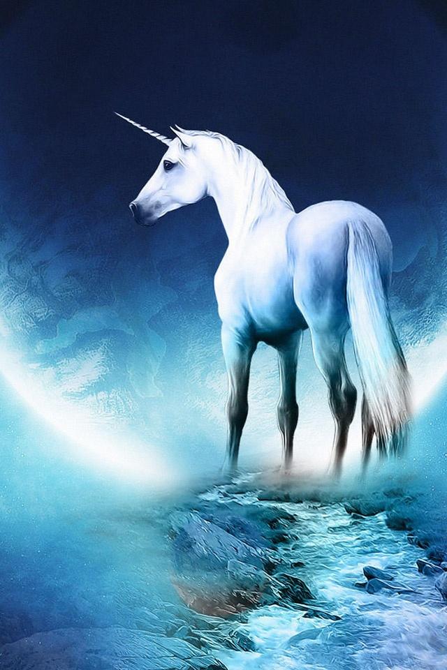 Airbus Iphone Wallpaper Cg Fantasy Unicorns In The Bible Ipad Iphone Hd