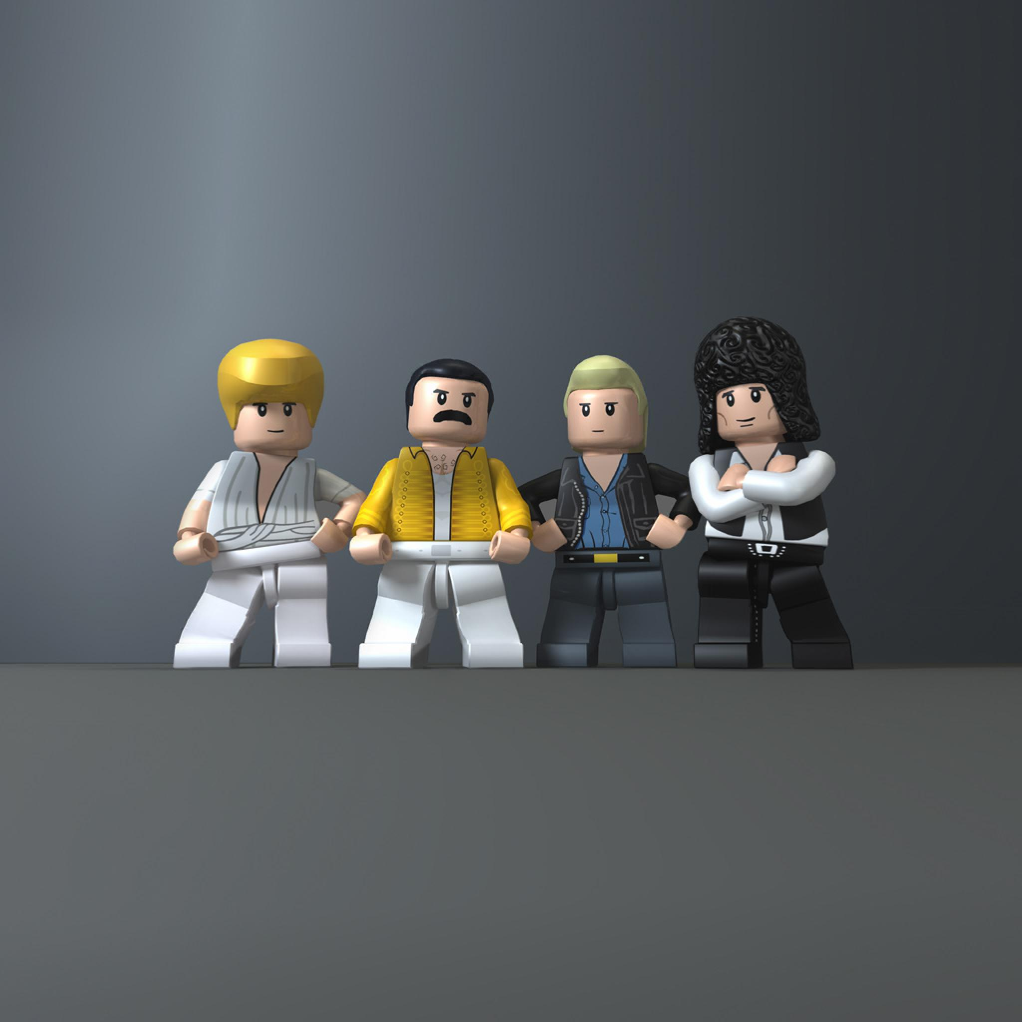 Wallpaper Iphone 3d Touch Fun Humor Lego Queen Band Ipad Iphone Hd Wallpaper Free