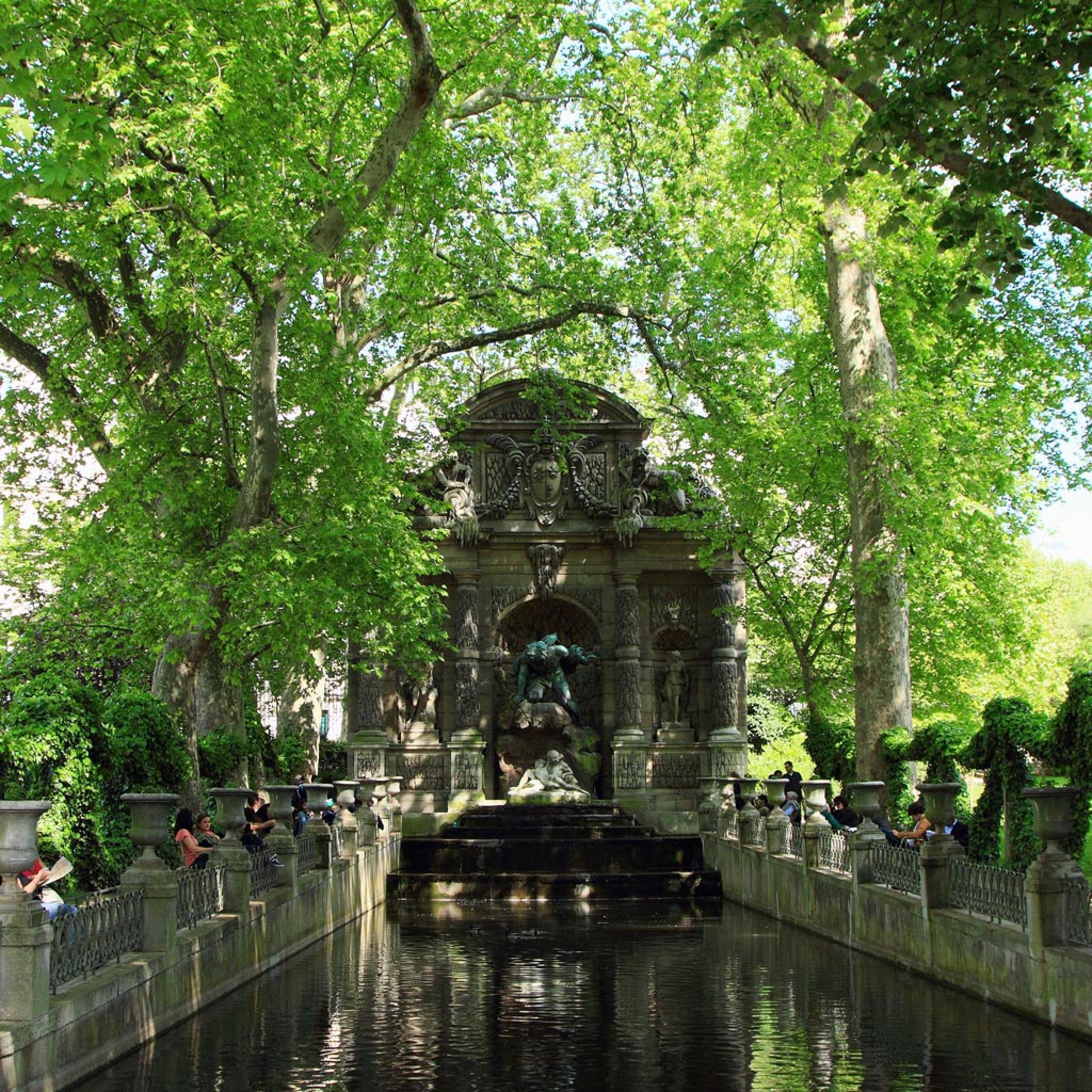 X Japan Wallpaper Hd Landmarks Luxembourg Gardens In Paris Ipad Iphone Hd