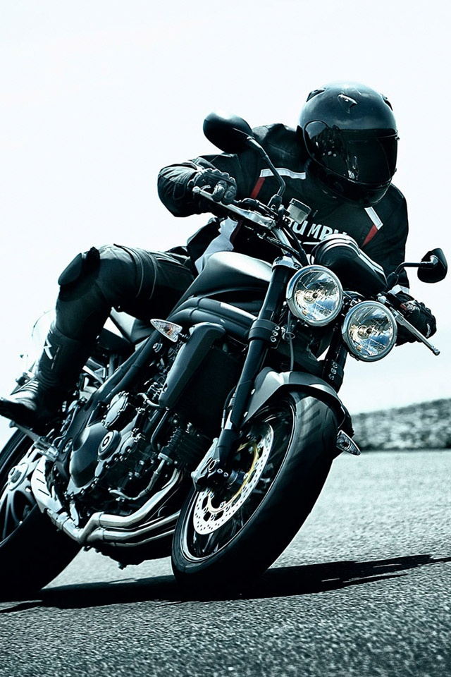 3d Yamaha Motorcycle Wallpaper Motorbikes Triumph Speed Triple Motorcycle Ipad Iphone