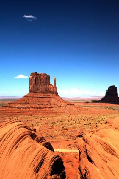 Nature - Monument Valley Utah - iPad iPhone HD Wallpaper Free