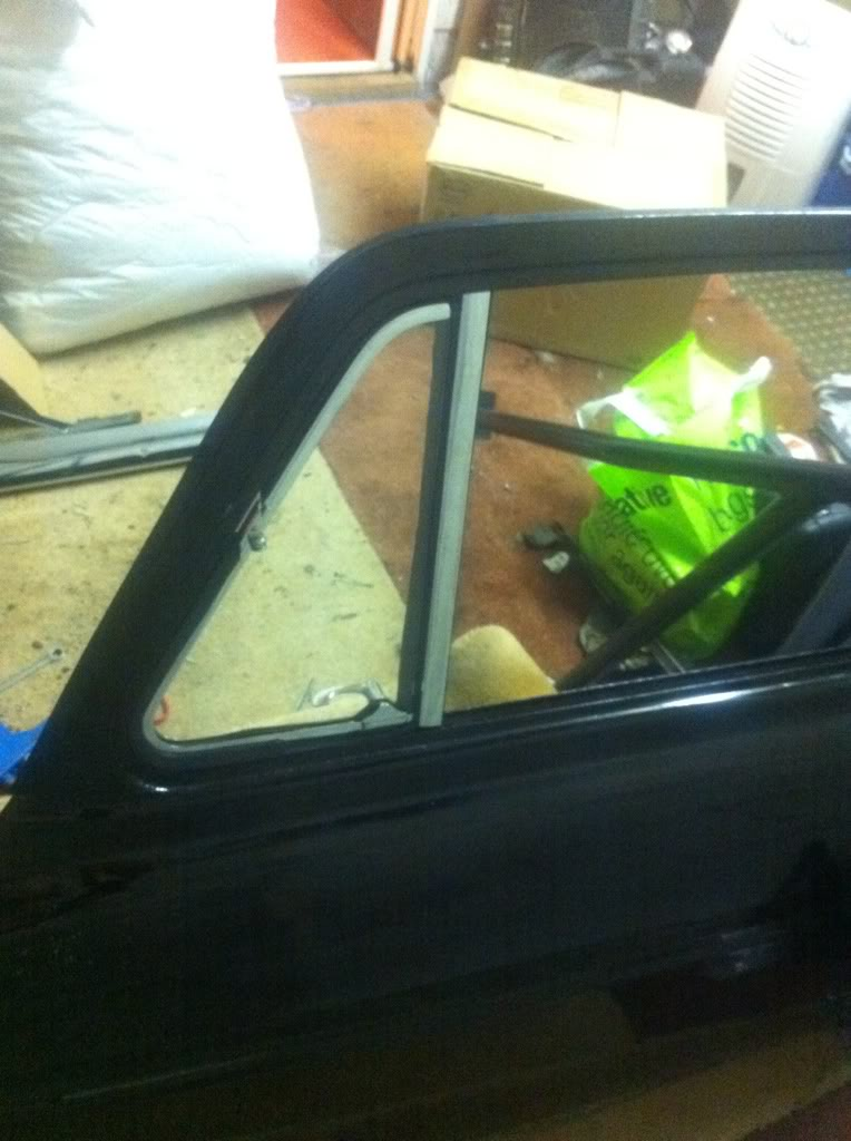 Glass Front Door Privacy Removing Door Quarter Light – Ford Anglia 105e Owners' Club