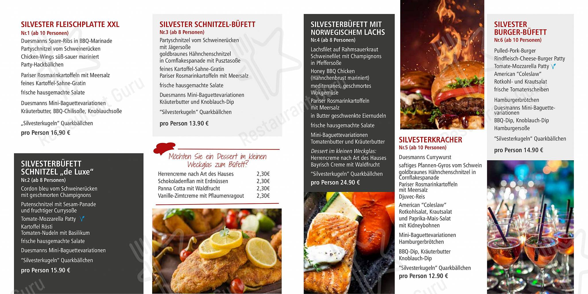 Menu At Duesmann Cafe Gronau