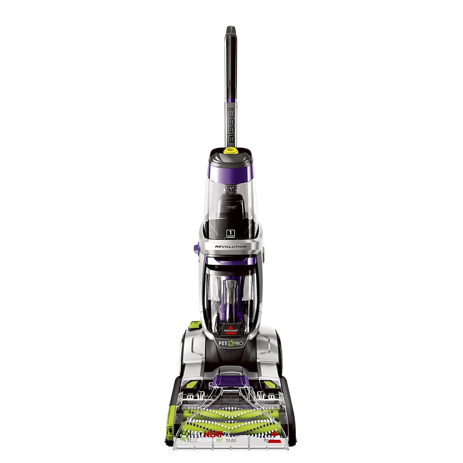 Carpet Cleaning Vacuum Bissell Proheat 2x Revolution Pet Pro Full Size Carpet Cleaner