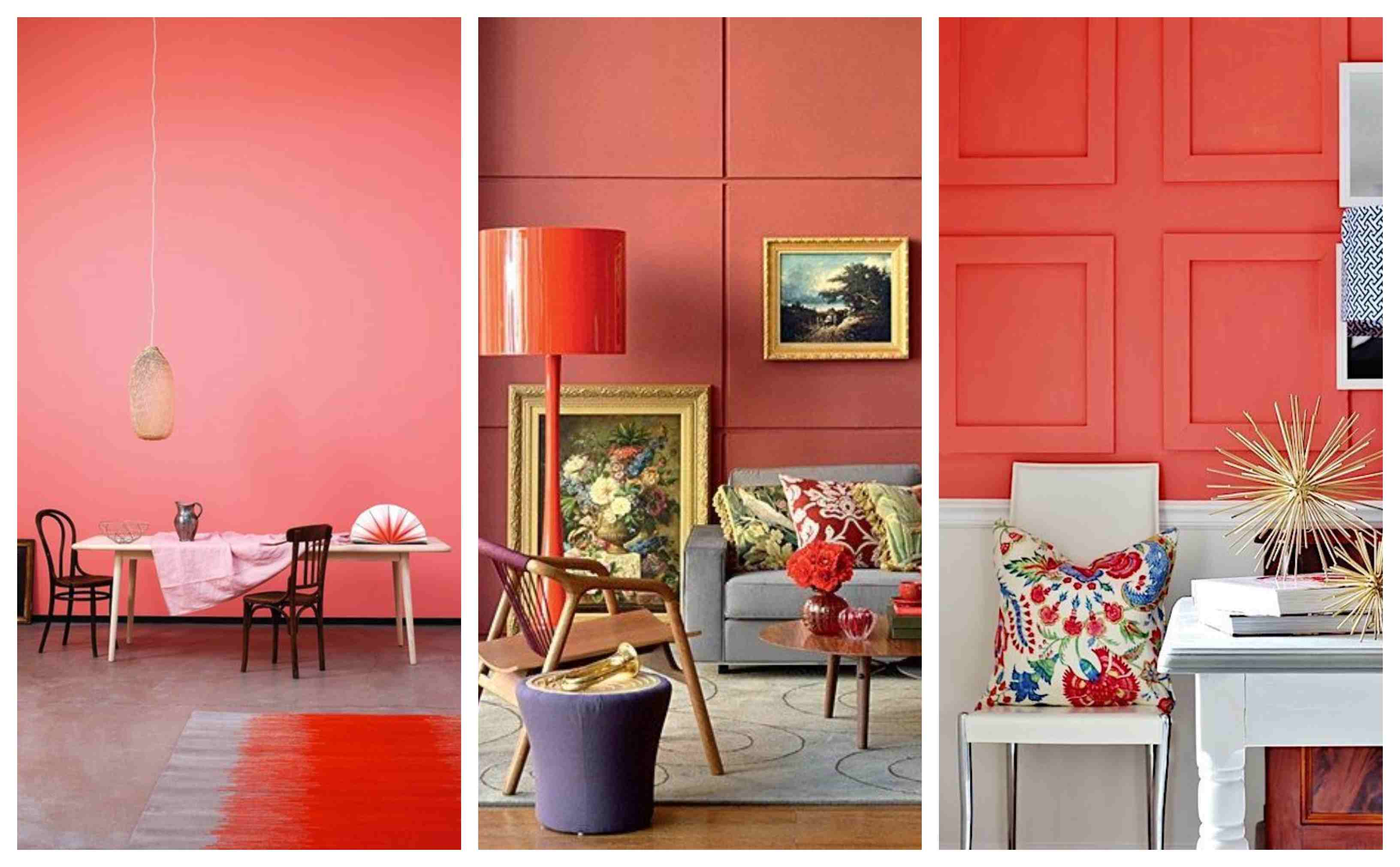 Tendencias Papel Pintado 2019 Living Coral Color 2019 10decoracion