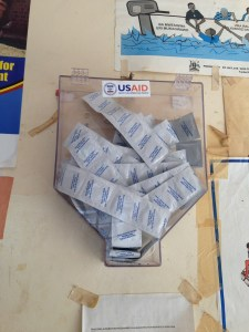 Your tax dollars at work - this condom distribution thing was in all the clinics.