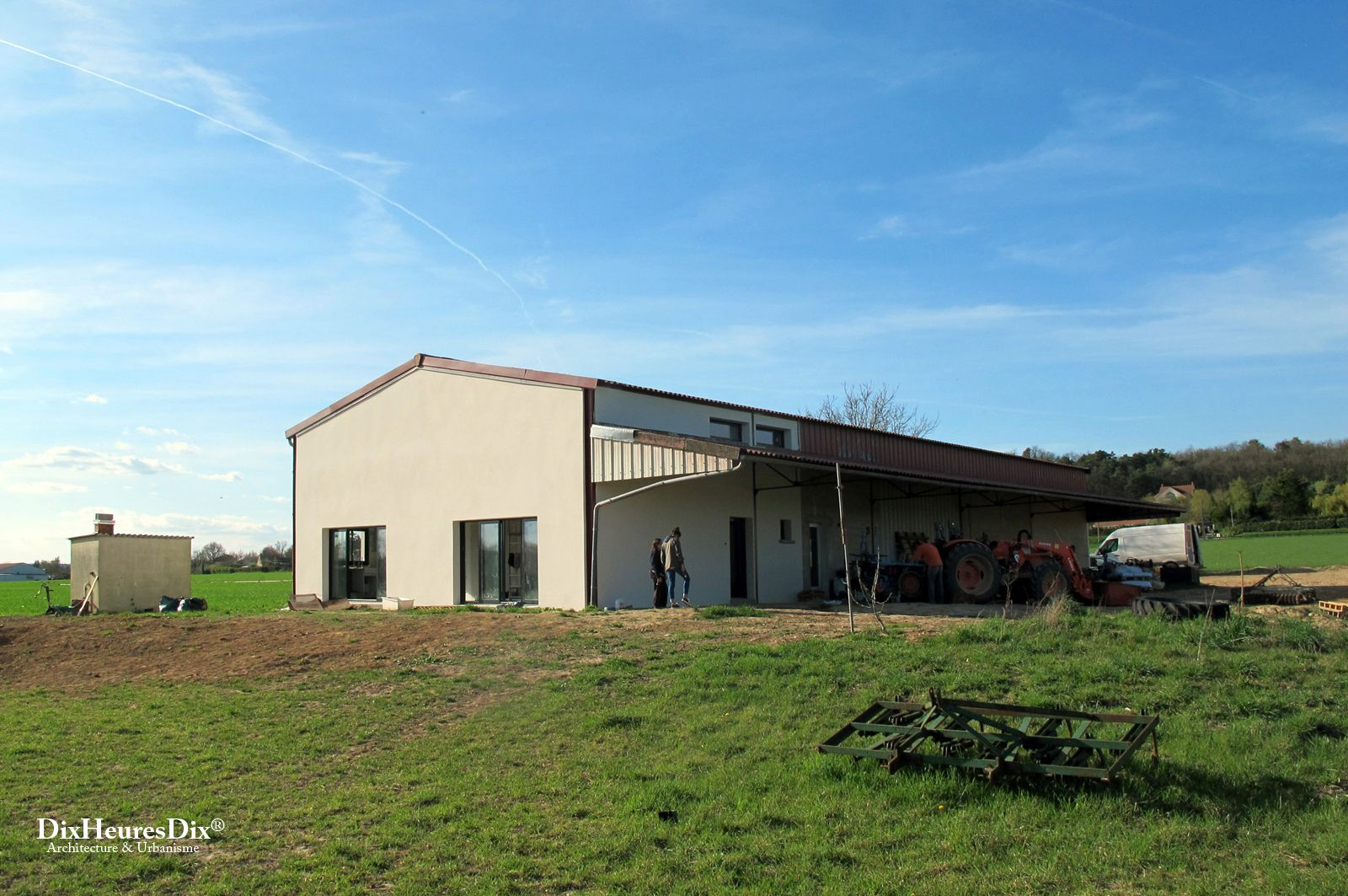 Reconversion Architecte Reconversion D Un Hangar Agricole Dix Heures Dix