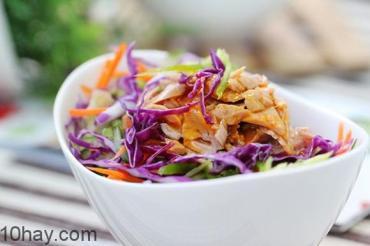 10 món salad ngon dễ làm cho bữa ăn thêm sắc màu