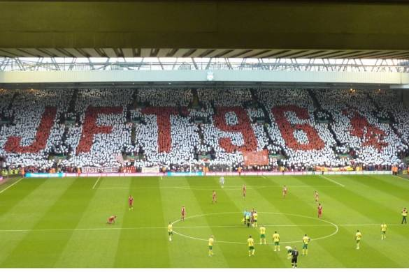Hillsborough Disaster Justice mosaic