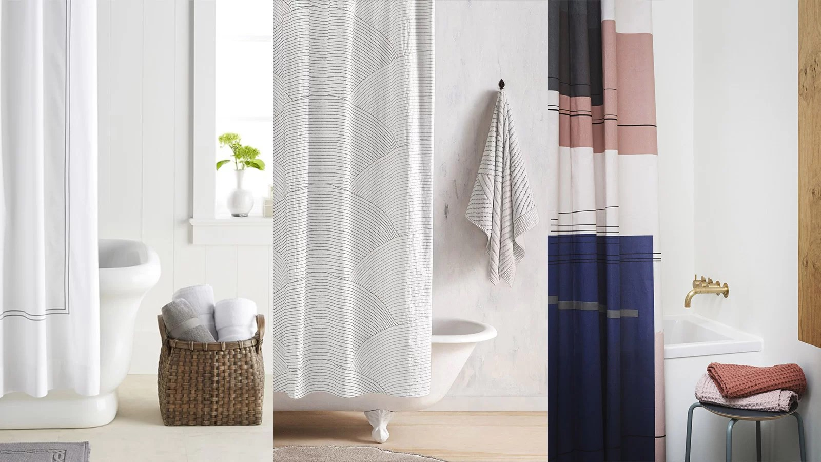 Cheap Stylish Curtains 10 Stylish Shower Curtains For A Modern Bathroom 10 Stunning Homes