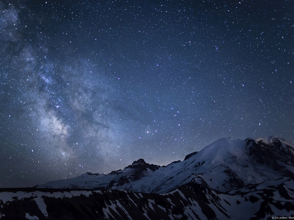 Apple Iphone X Wallpaper From Commercial Mount Rainier Over The Galaxy Windows 10 Wallpaper