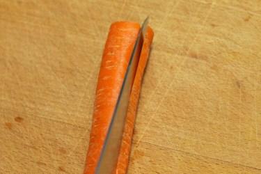 Hoe snij je een wortel julienne 2