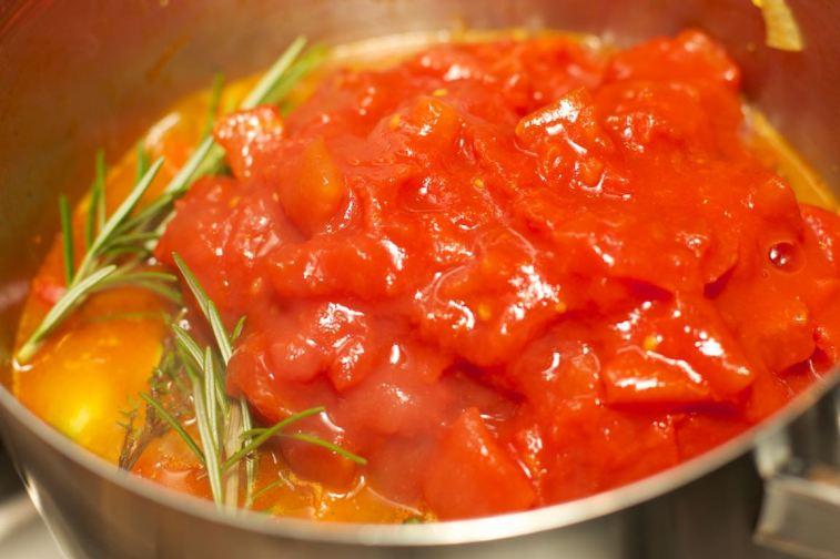 Pasta met tomatensaus 45