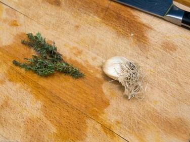 Pompoen gevuld met paddenstoelen risotto-21