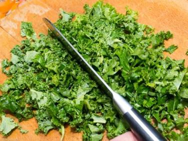 Boerenkoolsoep met rookworst en witte bonen-32