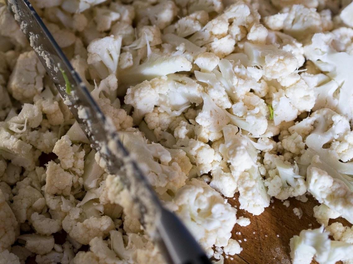 Risotto met bloemkool en knapperige Parmaham-13