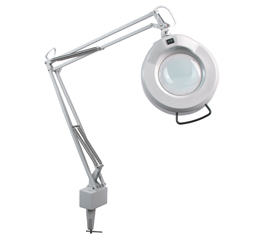 Inspection Lamp With Magnifier And Bench Clamp