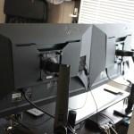EIZO FlexScan EV2750が2台届きました!