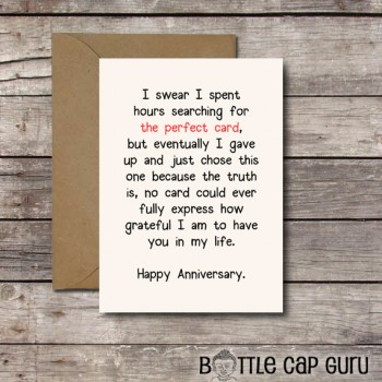 Printable Love  Anniversary Cards - 1111 Wear the Change
