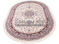 High-density carpet Esfahan 5978A ivory-d.red at a low ...