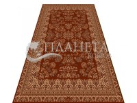 High-density carpet Imperia X259A terracotta-brown at the ...