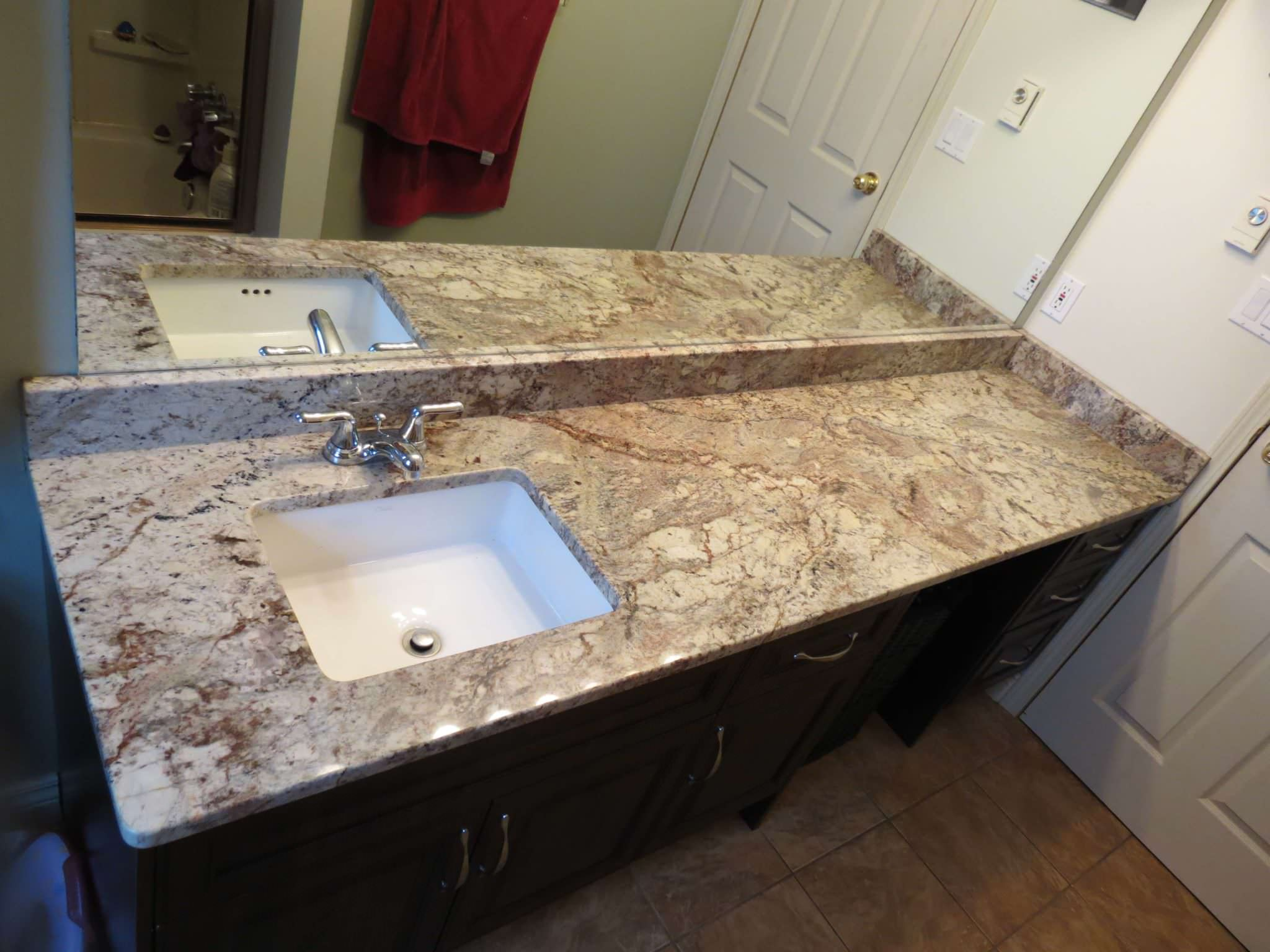 Taupe Quartz Countertop Typhoon Taupe Granite 18443 Countertops Pictures