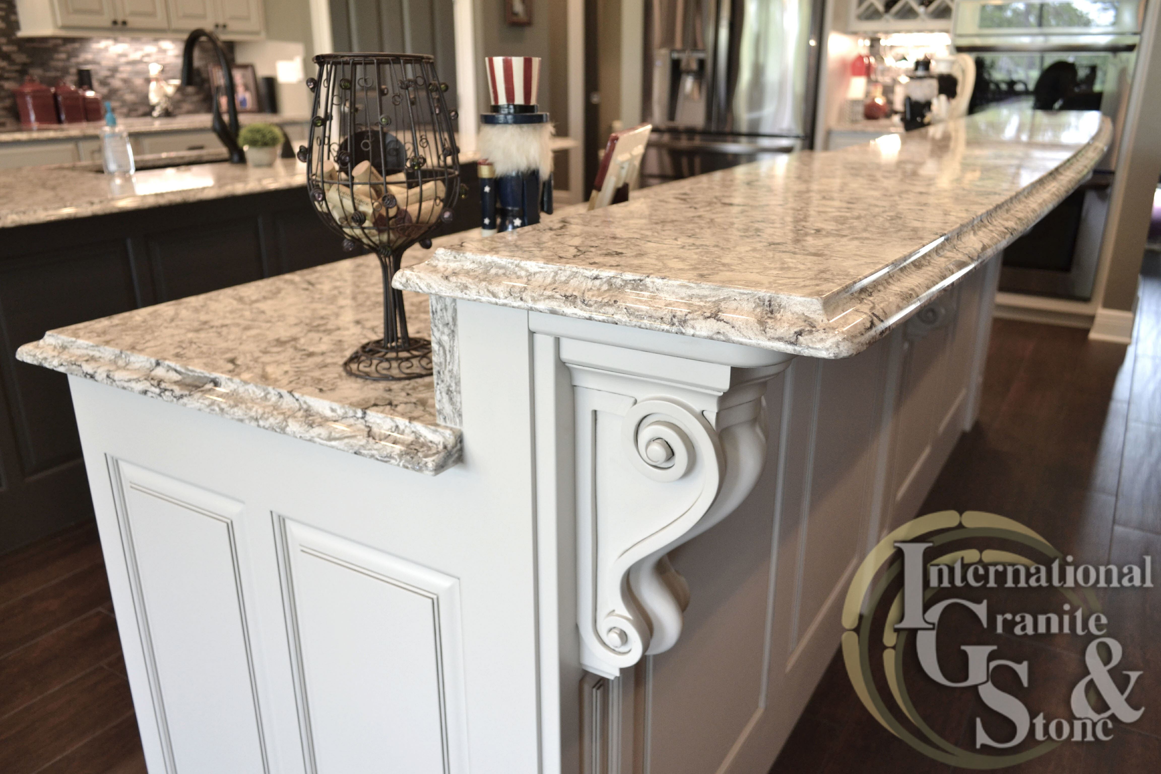Granite Kitchen Countertops With White Cabinets Quartz Countertops Granite Countertops St Petersburg