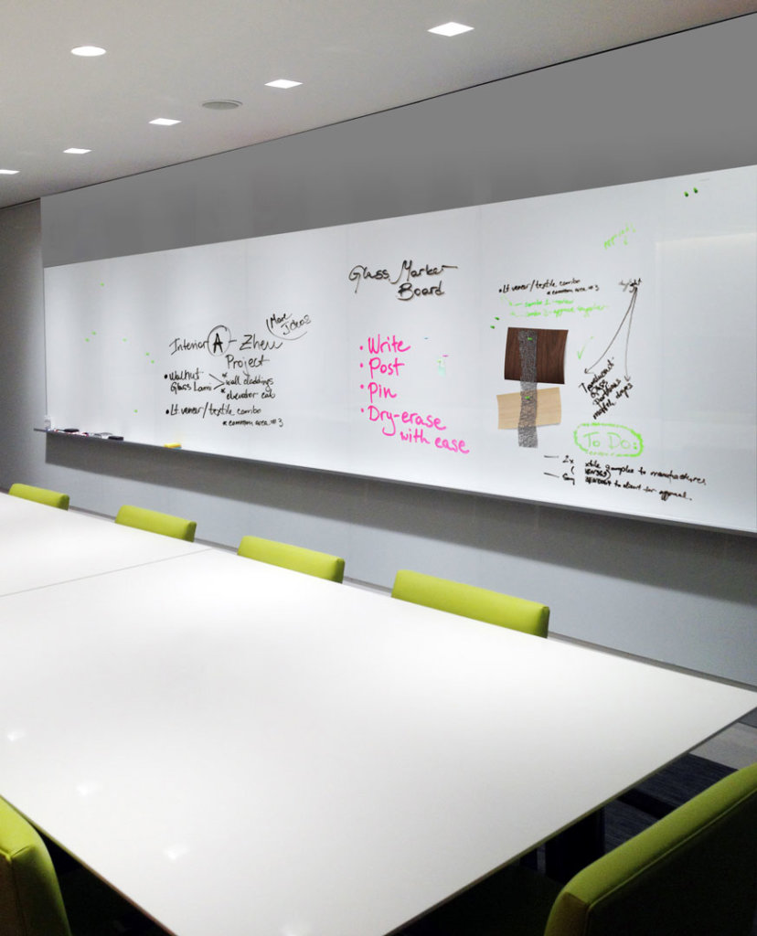 Whiteboard Glas Mag Magnetic Dry Erase Glass Marker Board Bendheim