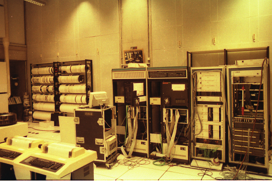 4X (centre) at the IRCAM Machine Room