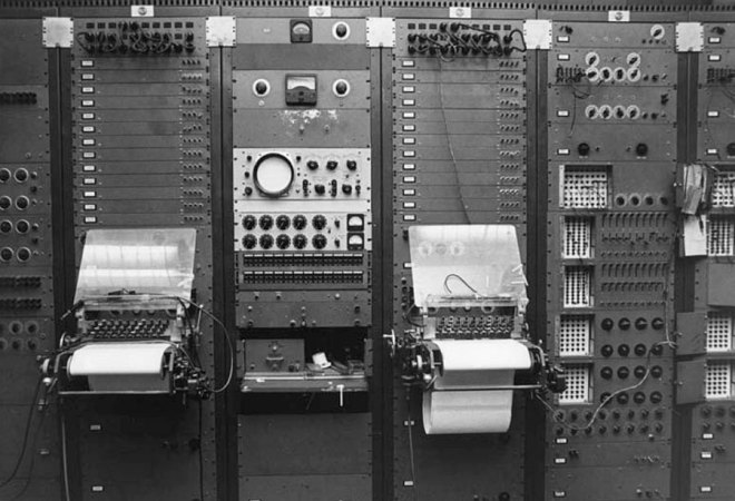 Punch paper terminals of the RCA MkII