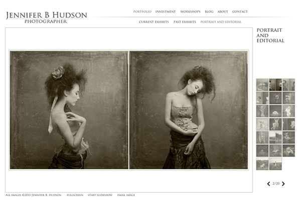 Fine Art Photographers - A Collection of Portfolio Websites