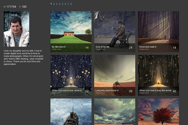 Fine Art Photographers - A Collection of Portfolio Websites