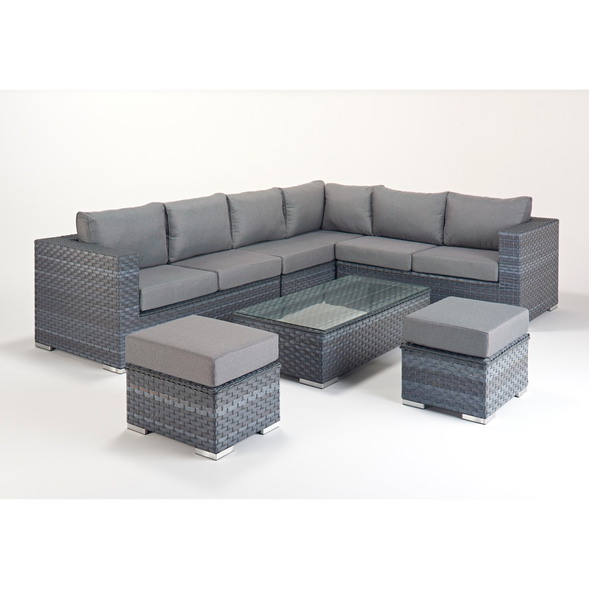 Rattan Corner Sofa Reviews Rattan Set Platinum Large Corner Sofa Set Wgf 510 Right Hand