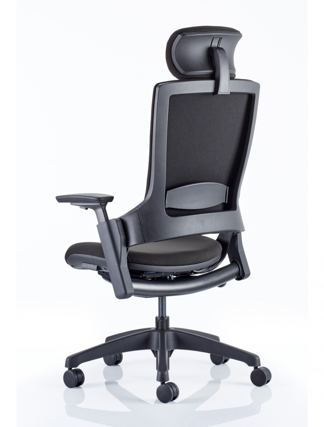 Cloth Covered Office Chairs Office Chairs Molet Task Exec Fabric Office Chair Kc0274