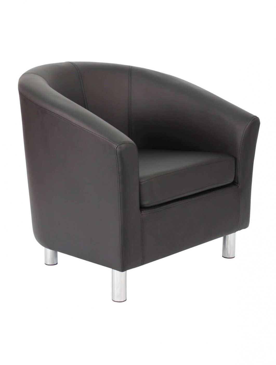 Tub Chairs Armchair Pu Leather Tub Chair Of2201ml Reception Chairs