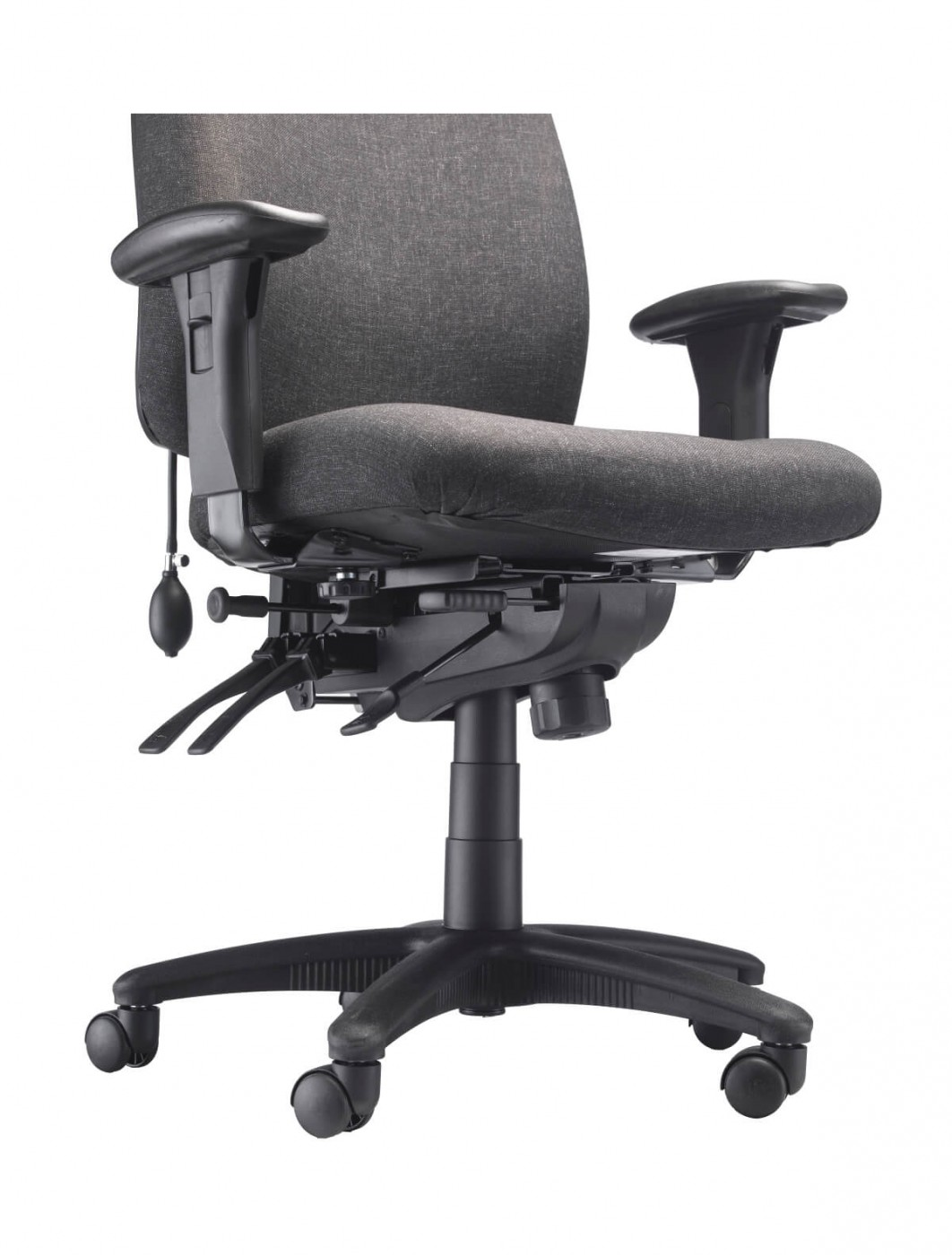 Cloth Covered Office Chairs Office Chairs Vista Fabric Office Chair Ch0903ch 121